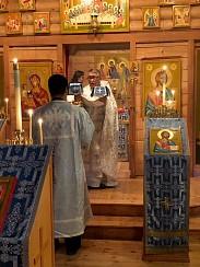 Fr. Noah Andrew's First Liturgy