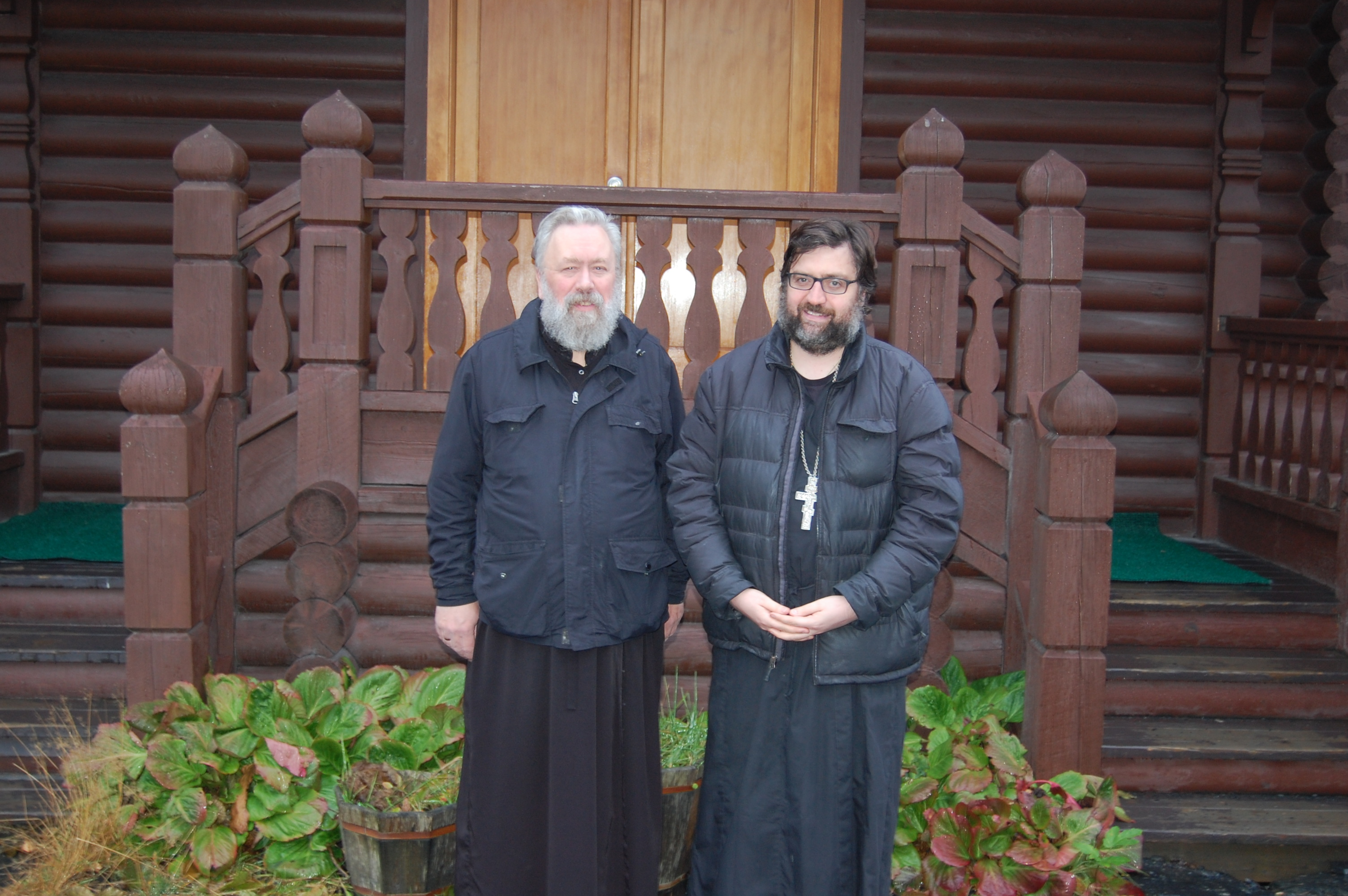 Deacon Irenaios Anderson and Father John Dunlop