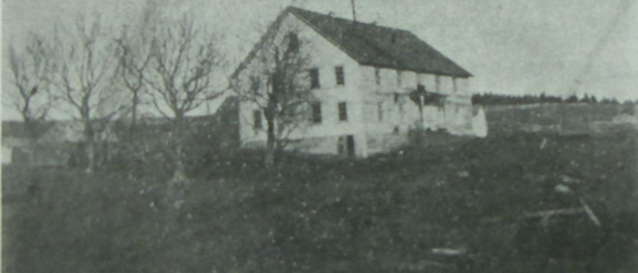 The Building of St. Herman Orphanage in Kodiak, AK (end of 19th, beginning of 20th century)